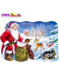 Puzzle Santa Claus Maxi