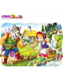 Puzzle Caperucita Roja Maxi