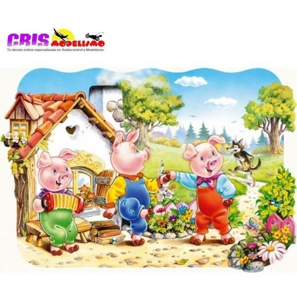 Puzzle Los Tres Cerditos de 20 piezas Maxi