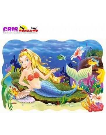 Puzzle Sirena de 20 piezas Maxi