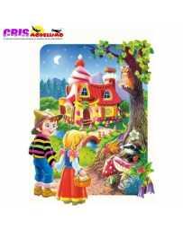 Puzzle Hansel Gretel Maxi