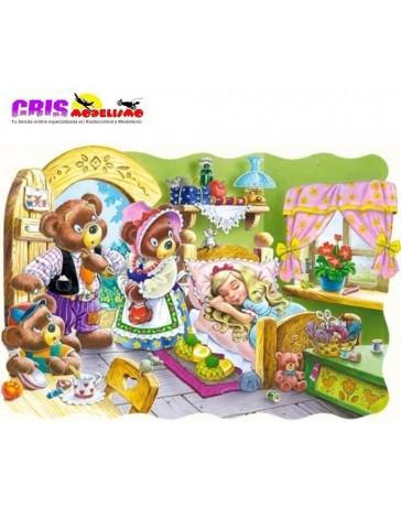 Puzzle Cabellos Dorados de 30 piezas
