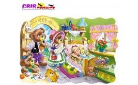 Puzzle Cabellos Dorados