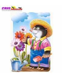 Puzzle Mole el Jardinero