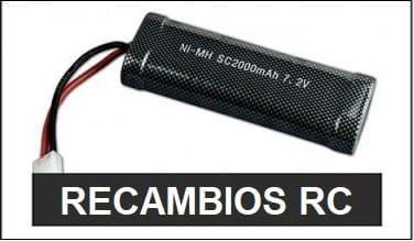 Recambios para coches de radiocontrol, helicopteros rc, drones rc y aviones rc